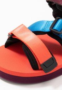 Scotch & Soda - LYDIA SPORT - Platform sandals - coral/multicolor - 2