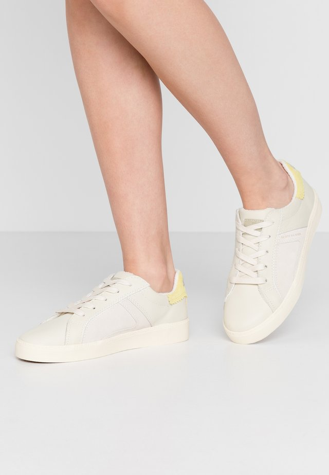 LAURITE - Sneakers - cream/citrus