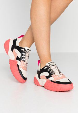 BELVA  - Baskets basses - offwhite/multicolor