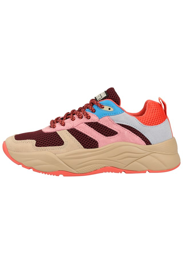 Trainers - peony pink multi s581