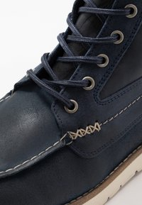 Scotch & Soda - LEVANT MID LACE BOOT - Lace-up ankle boots - marine - 5