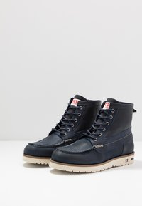 Scotch & Soda - LEVANT MID LACE BOOT - Lace-up ankle boots - marine - 2