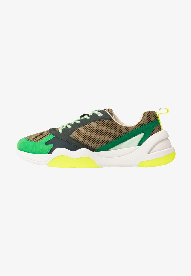 ICARYUS - Sneakers laag - butter green