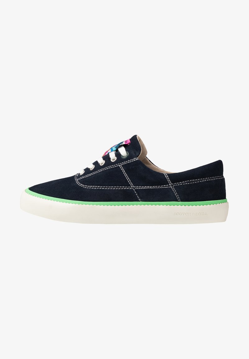 Scotch & Soda - MENTON LACE SHOES - Sneakersy niskie - marine