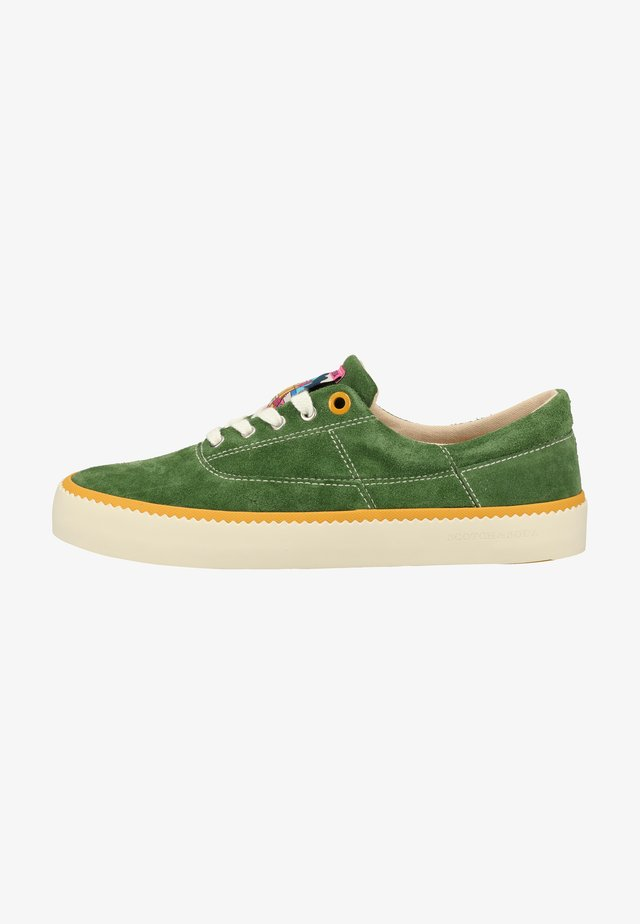 Sneakers laag - green s77