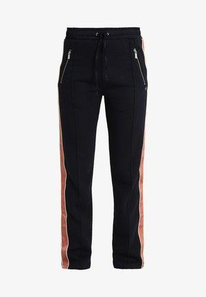 PANTS WITH MAISON TAPE - Teplákové kalhoty - night
