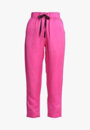 TAILORED PANTS - Pantalones - electric pink