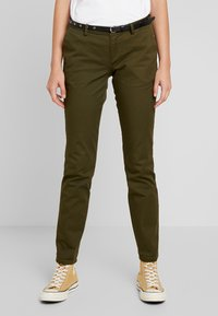 Scotch & Soda - Chinot - army - 0