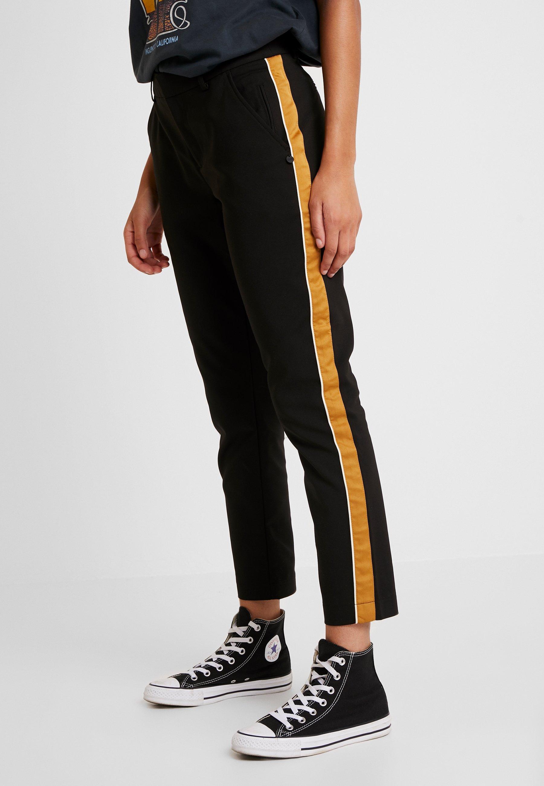 Soda Tailored Contrast Black Pants Side Classique With PanelPantalon Scotchamp; Stetch qSGUVzMp