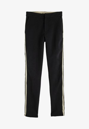 REFINED TAPE  - Tracksuit bottoms - black