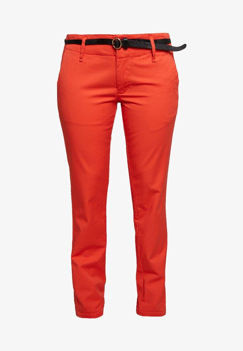 Scotch & Soda - WITH BELT - Chino kalhoty - rose red