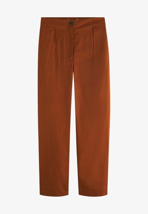 PLEATED - Chino - brown