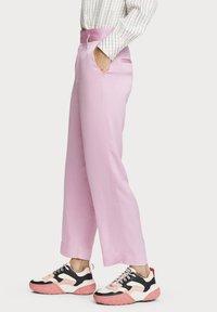 Scotch & Soda - Trousers - pink violet - 3