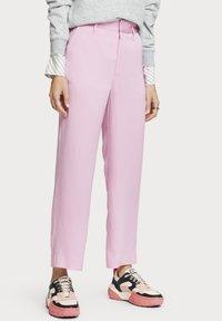 Scotch & Soda - Trousers - pink violet - 0