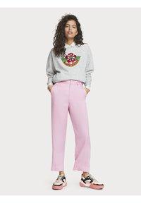 Scotch & Soda - Trousers - pink violet - 1
