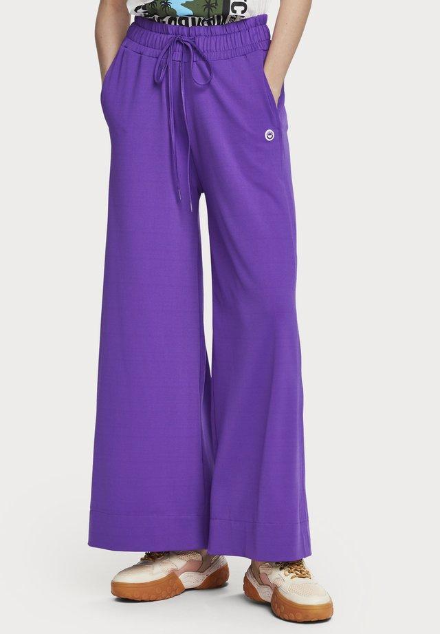 Wide leg - Broek - purple
