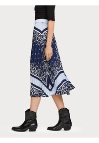 Scotch & Soda - A-line skirt - blue - 5