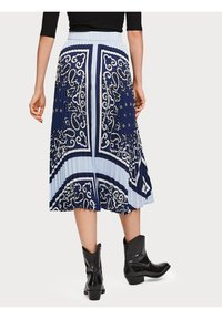 Scotch & Soda - A-line skirt - blue - 2