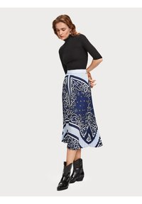 Scotch & Soda - A-line skirt - blue - 4