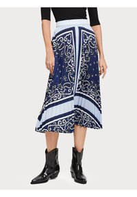 Scotch & Soda - A-line skirt - blue - 0