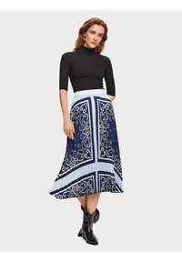 Scotch & Soda - A-line skirt - blue - 1