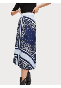 Scotch & Soda - A-line skirt - blue - 3