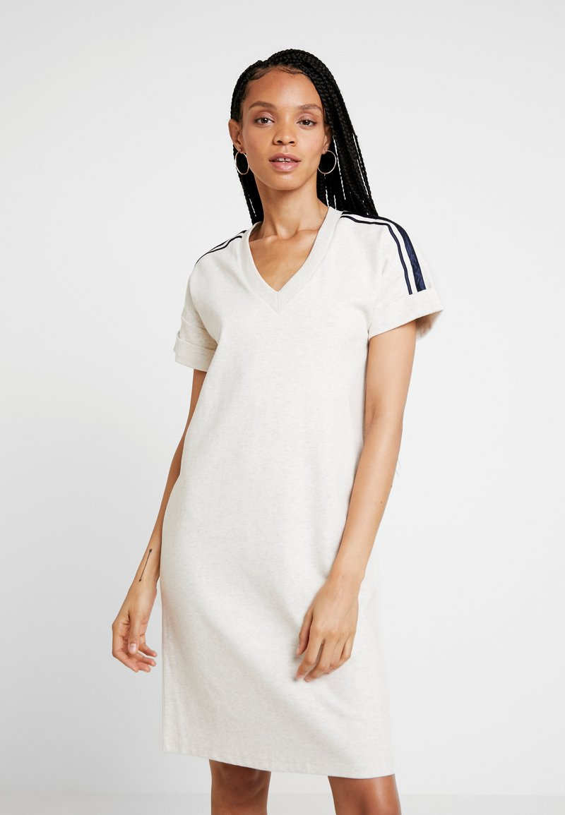 Scotch & Soda - BASIC DRESS WITH SPORTY - Robe d'été - ecru melange