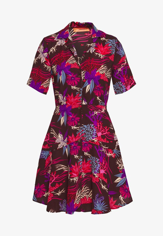 PRINTED SUMMER SHIRT DRESS - Shirt dress - combo