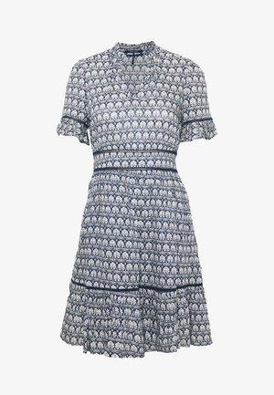 PRINTED DRESS - Korte jurk - blue/white