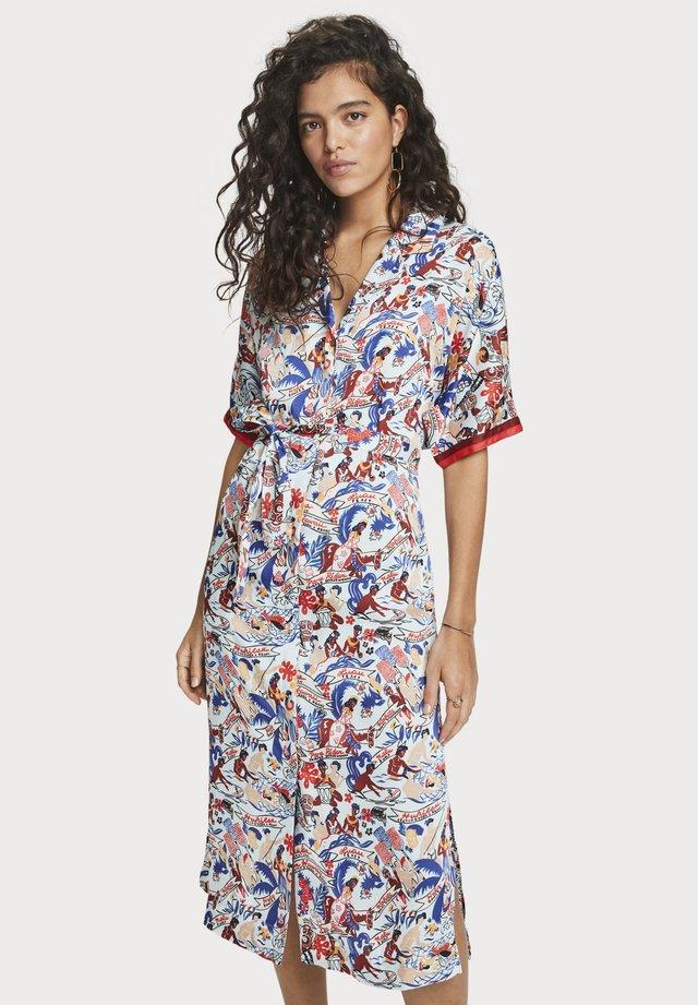 Printed shirt dress   Keoni - Blousejurk - combo u