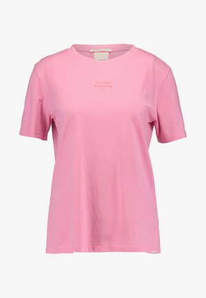 SHORT SLEEVE TEE - T-shirts med print - bubblegum