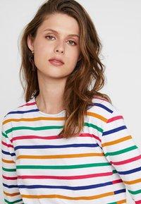 Scotch & Soda - CLASSIC LONG SLEEVE BRETON - T-shirt à manches longues - white/multi-coloured - 4