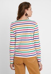 Scotch & Soda - CLASSIC LONG SLEEVE BRETON - T-shirt à manches longues - white/multi-coloured - 2