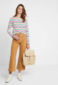 Scotch & Soda - CLASSIC LONG SLEEVE BRETON - T-shirt à manches longues - white/multi-coloured - 1