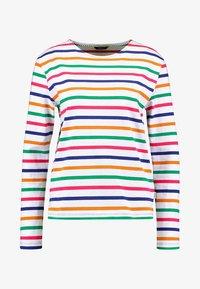 Scotch & Soda - CLASSIC LONG SLEEVE BRETON - T-shirt à manches longues - white/multi-coloured - 3