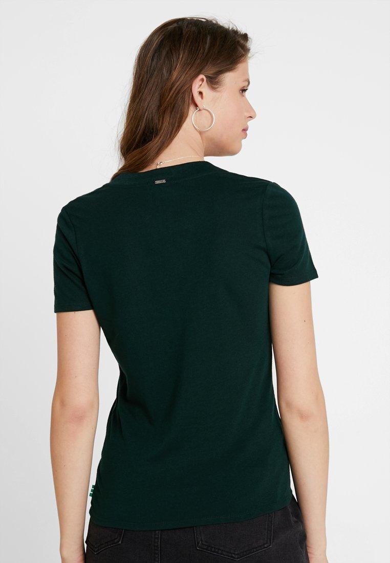 Scotchamp; With Soda Tee V NeckT shirt Seaweed Deep Basique Feminine Green ZuiOPXkT
