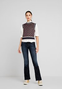 Scotch & Soda - VEST IN GRAPHICAL PATTERN - Strikpullover /Striktrøjer - combo - 1