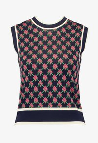 Scotch & Soda - VEST IN GRAPHICAL PATTERN - Strikpullover /Striktrøjer - combo - 4