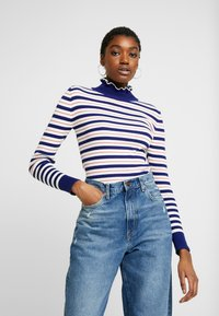 Scotch & Soda - TURTLE NECK WITH DETAILS - Jumper - combo - 0