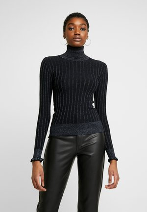 TURTLE NECK WITH DETAILS - Maglione - night