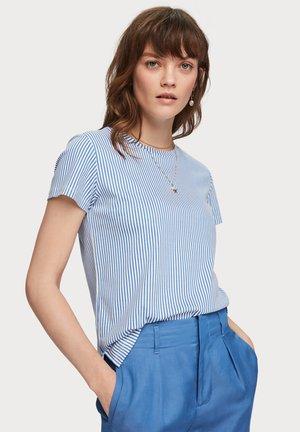 BASIC TEE - Basic T-shirt - blue