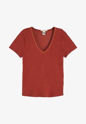 Basic T-shirt - maroon