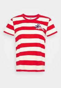Scotch & Soda - KEONI CAPSULE PRINTED REGULAR FIT TEE - Print T-shirt - combo - 4