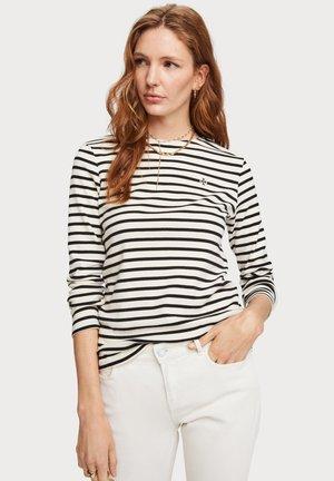 BRETON  - T-shirt à manches longues - black