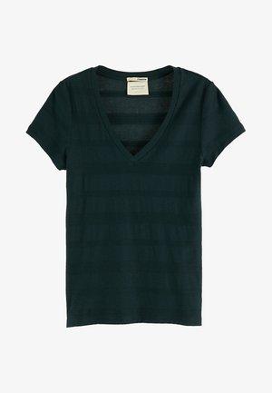Print T-shirt - midnight forest