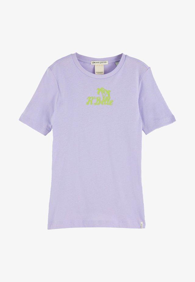 TEXT ARTWORK - T-shirt print - lavender