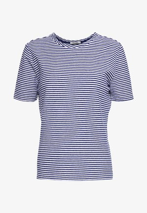 TEE - Jednoduché triko - blue/white