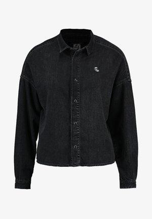 BRUTUS AMS BLAUW COLAB - Skjorte - black