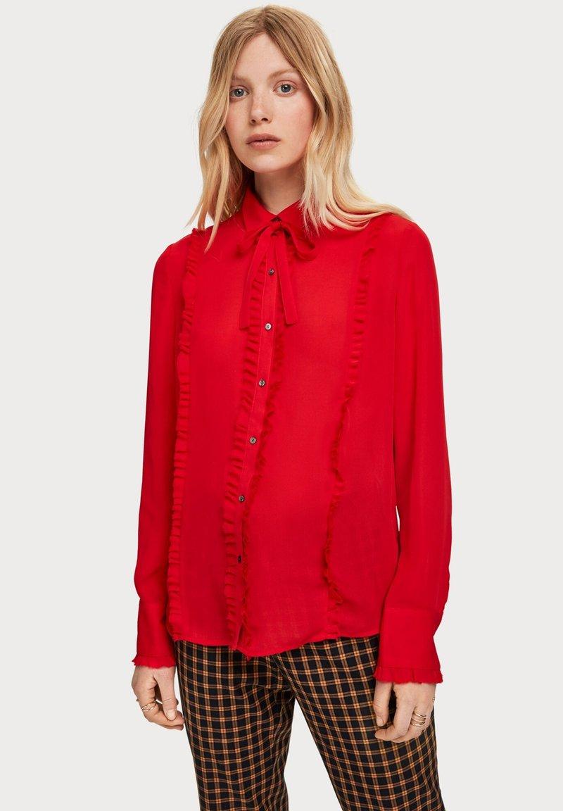 Scotch & Soda - Overhemdblouse - red
