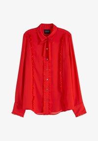 Scotch & Soda - Overhemdblouse - red - 4
